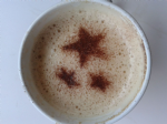 2 x  Stars of the Sky coffee / cappuccino stencils    reusable many times  present cafe  museum planetenium